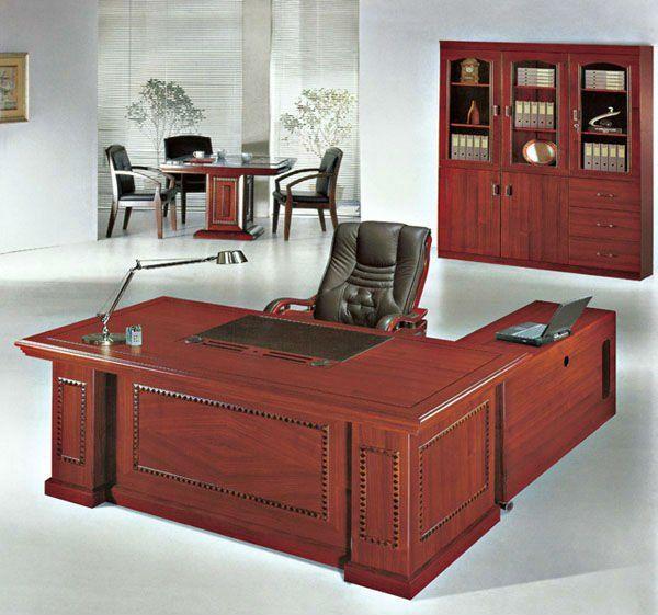 Rustic Americana Hardwood Executive Desk Home Office: Wooden Office Table/nice Executive Table/good Conference