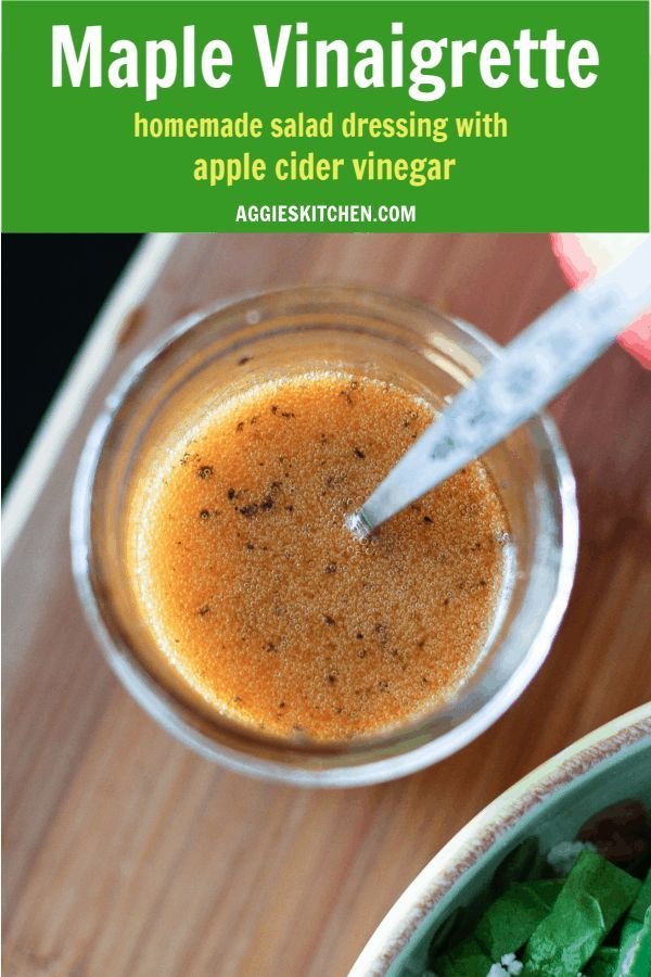 Maple Vinaigrette Dressing with apple cider vinegar is sweet and smoky adds so m... Maple Vinaigrette Dressing with apple cider vinegar is sweet and smoky adds so m...,