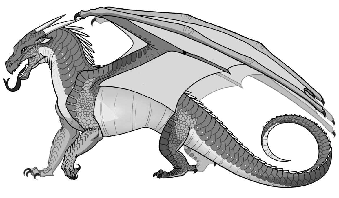 F2u Nightwing Icewing Hybrid Psd By Kagatsuo On Deviantart Wings Of Fire Wings Of Fire Dragons Dragon Coloring Page