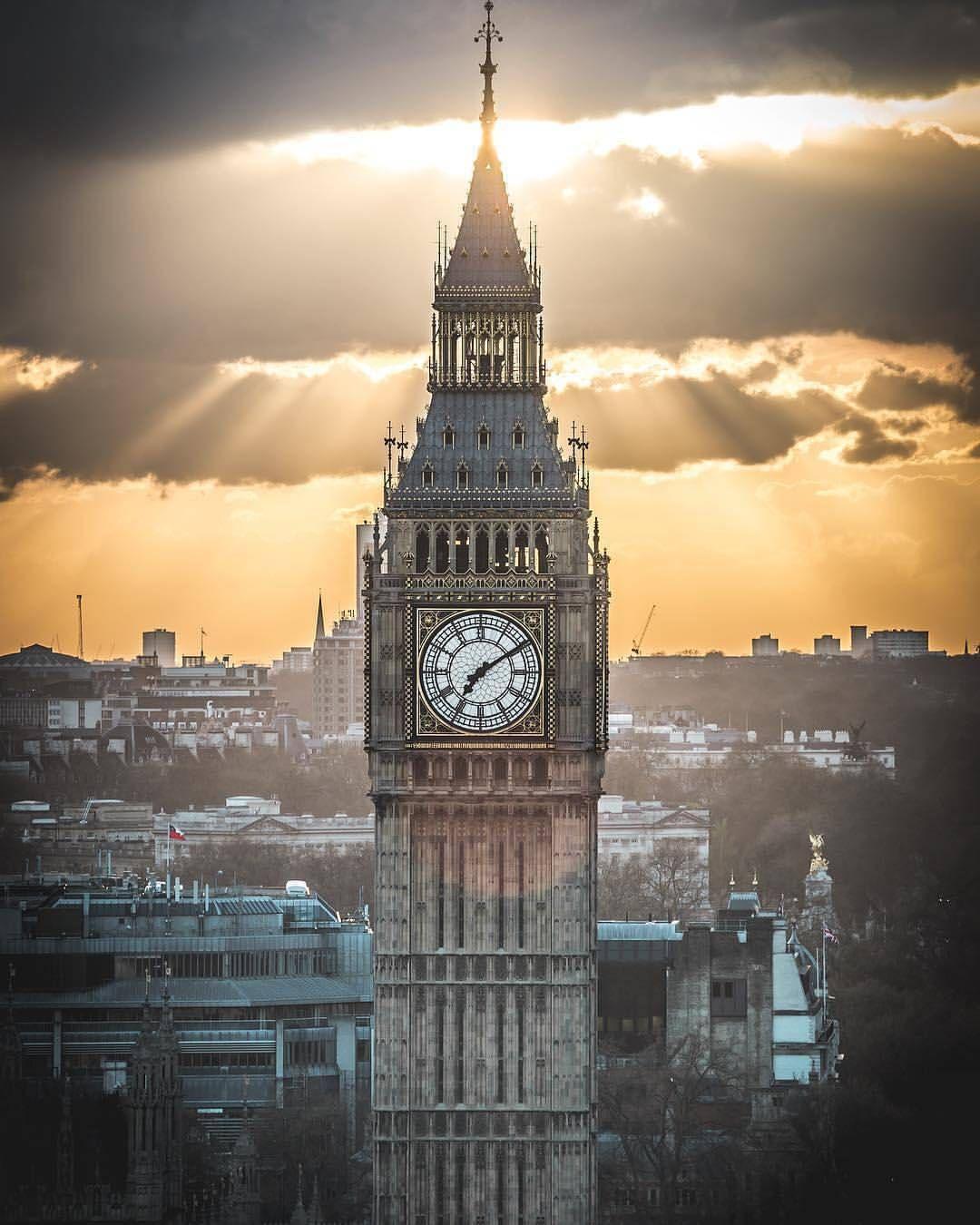 Big Ben London Londres Inglaterra Londres Viajes A Londres