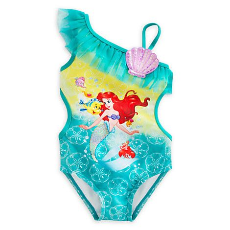 Ariel Swimsuit For Girls Regalos Reyes Magos Vestidos De
