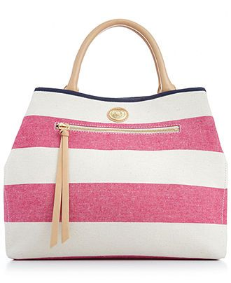 5822e2f69e0 Tommy Hilfiger Mother's Day Rugby Striped Shopper - All Handbags - Handbags  & Accessories - Macy's