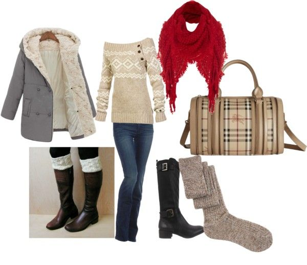 """baby it's cold outside"" by ladybug0810 on Polyvore"