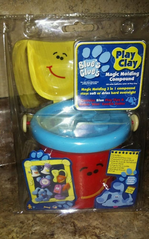 shovel and pail blues clues. Blue\u0027s Clues Play House Play-Doh Clay Plastic Playset Pail Shovel NEW Sealed #Tyco And Blues M
