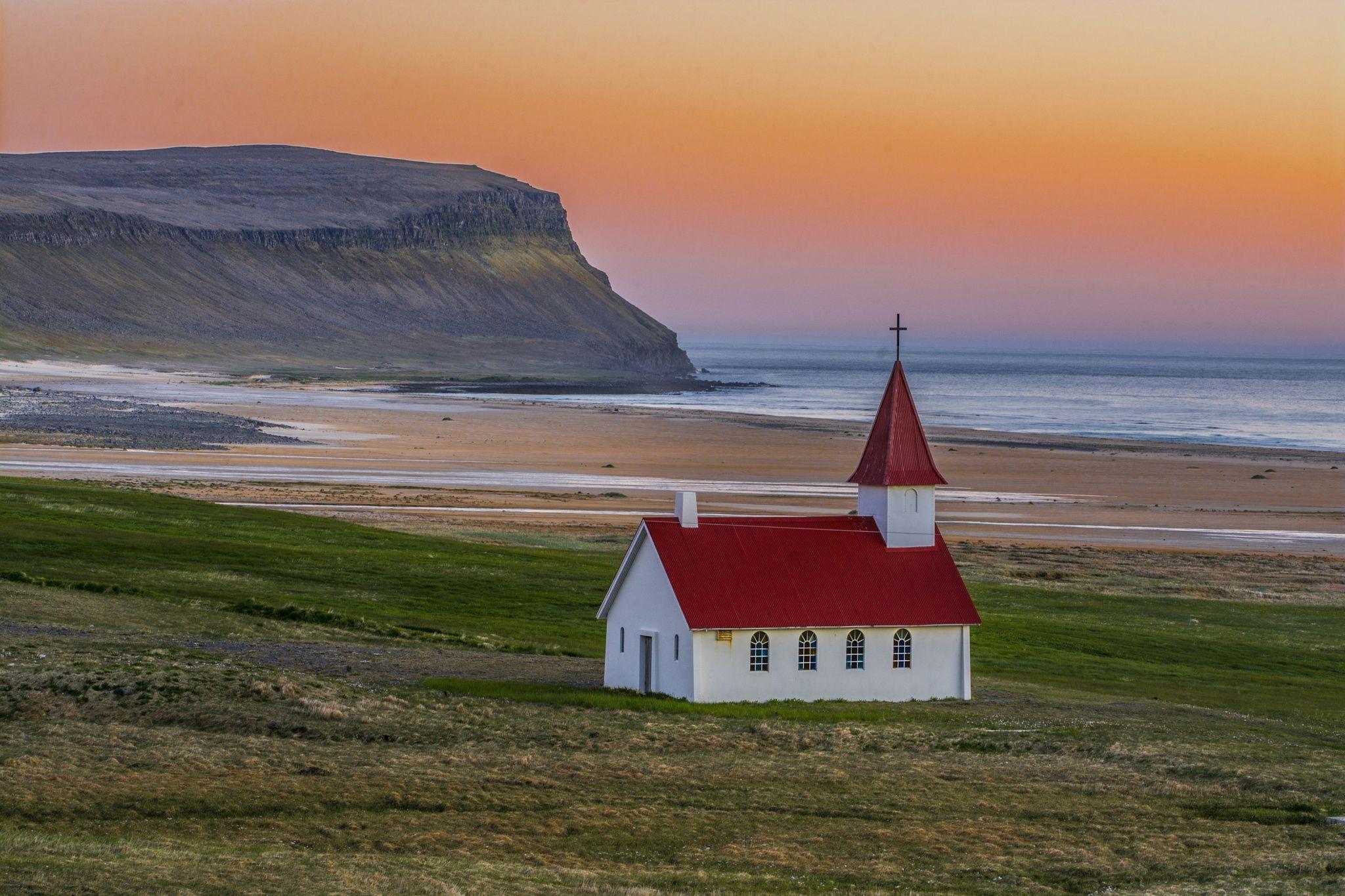 Breidavik Church II by Gonzalo Navarro Photographs on 500px