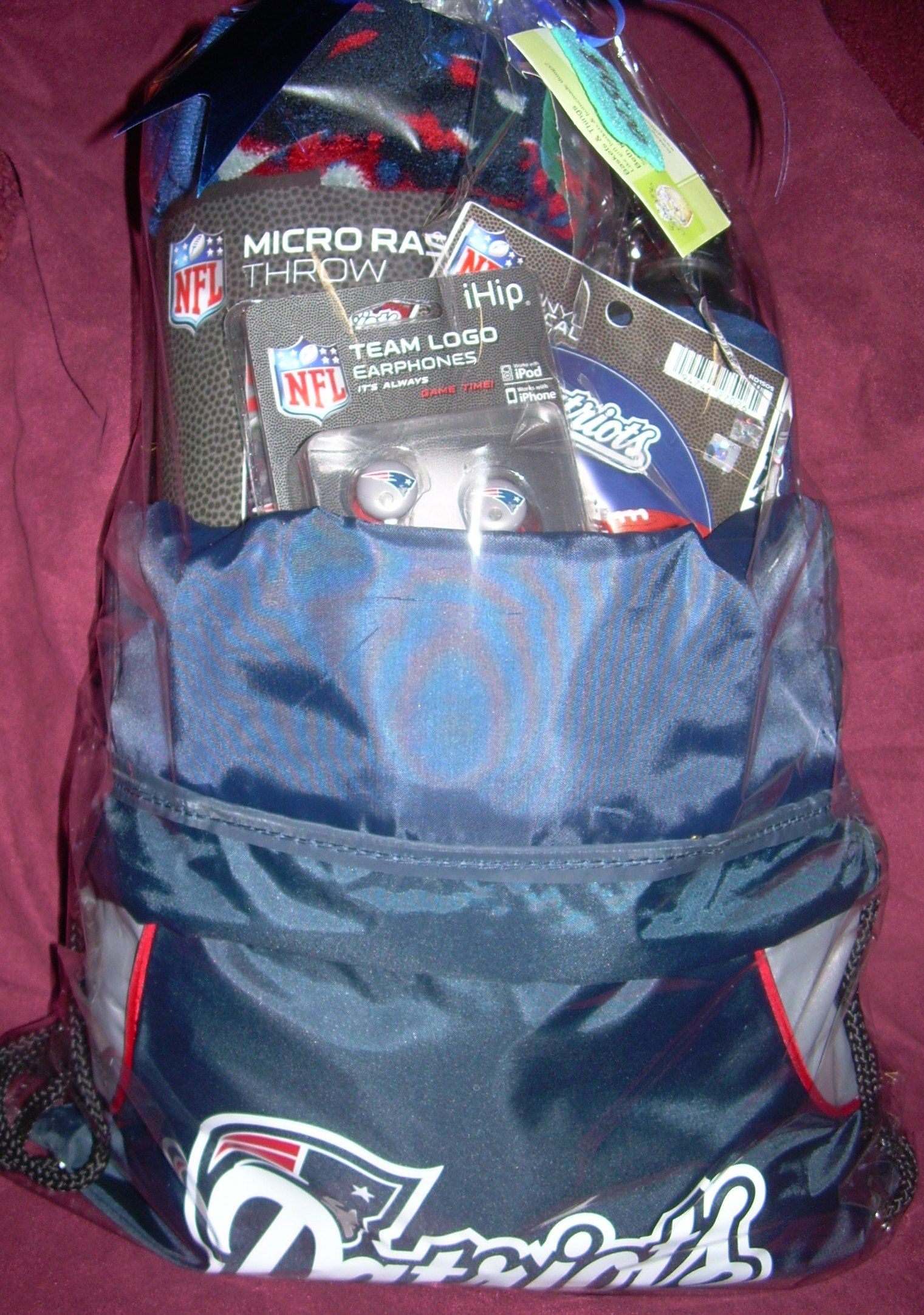 Great fathers day gifts patriots bag full of fun