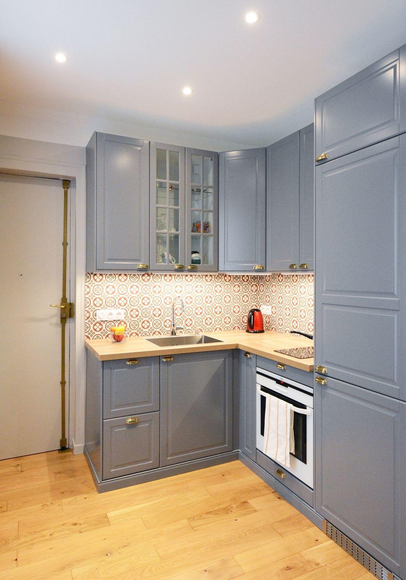 Appartement Paris 9 : rénovation studio de 28 m2 avec chambre | Appartement paris, Appartement ...