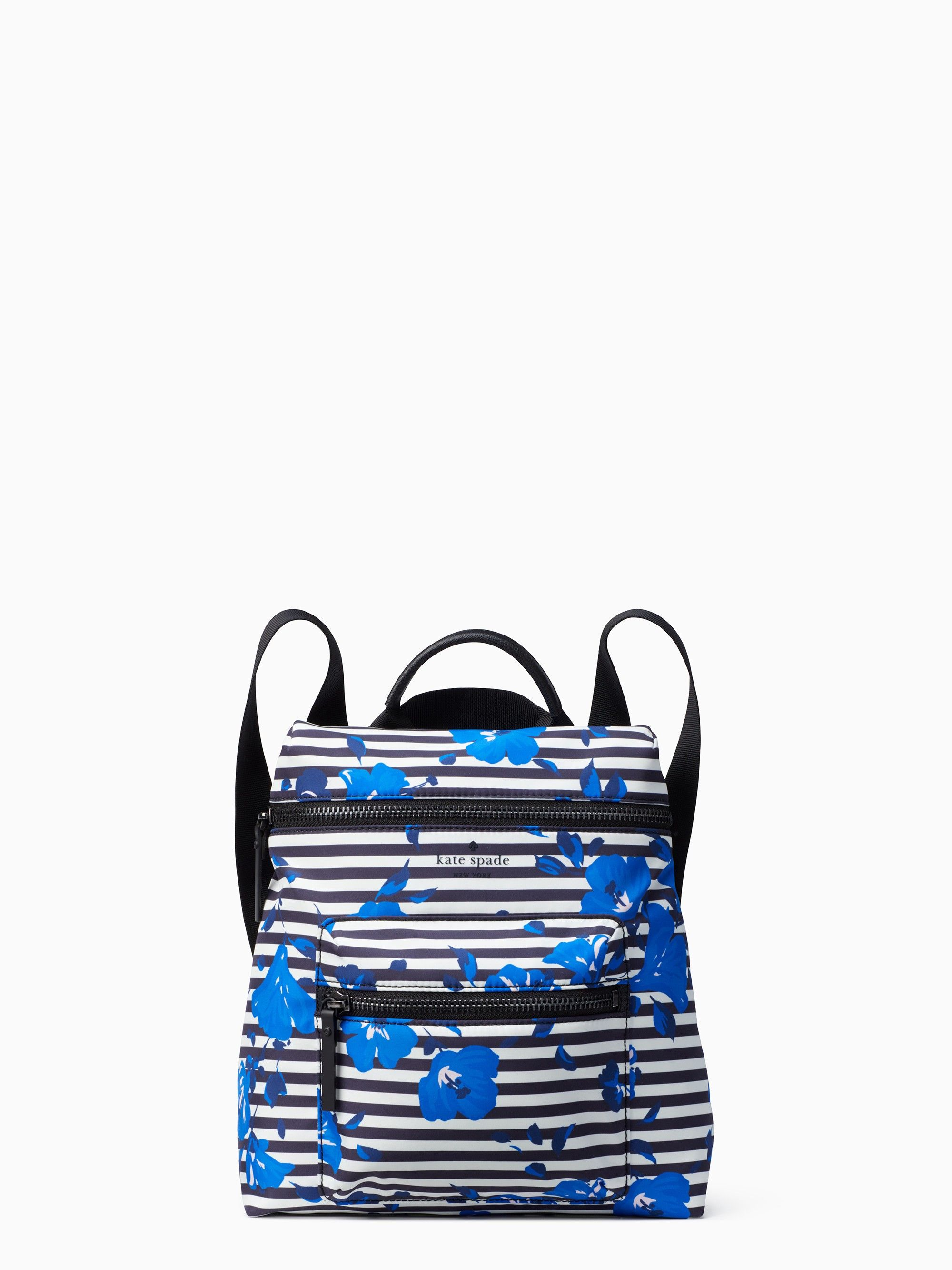 49b7491a4be1 Kate Spade That s The Spirit Convertible Backpack - Hibiscus Stripe ...