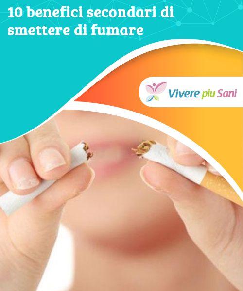 Benefici estetici dello smettere di fumare