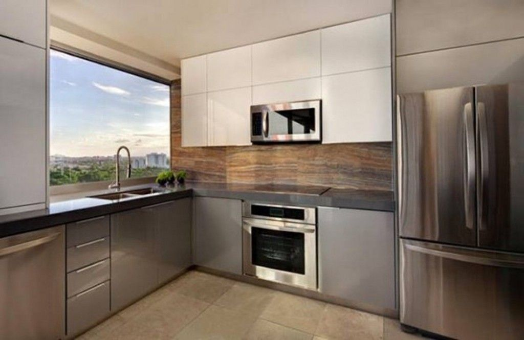 modern kitchen doors | Future Apartment/Home | Pinterest | Cocinas