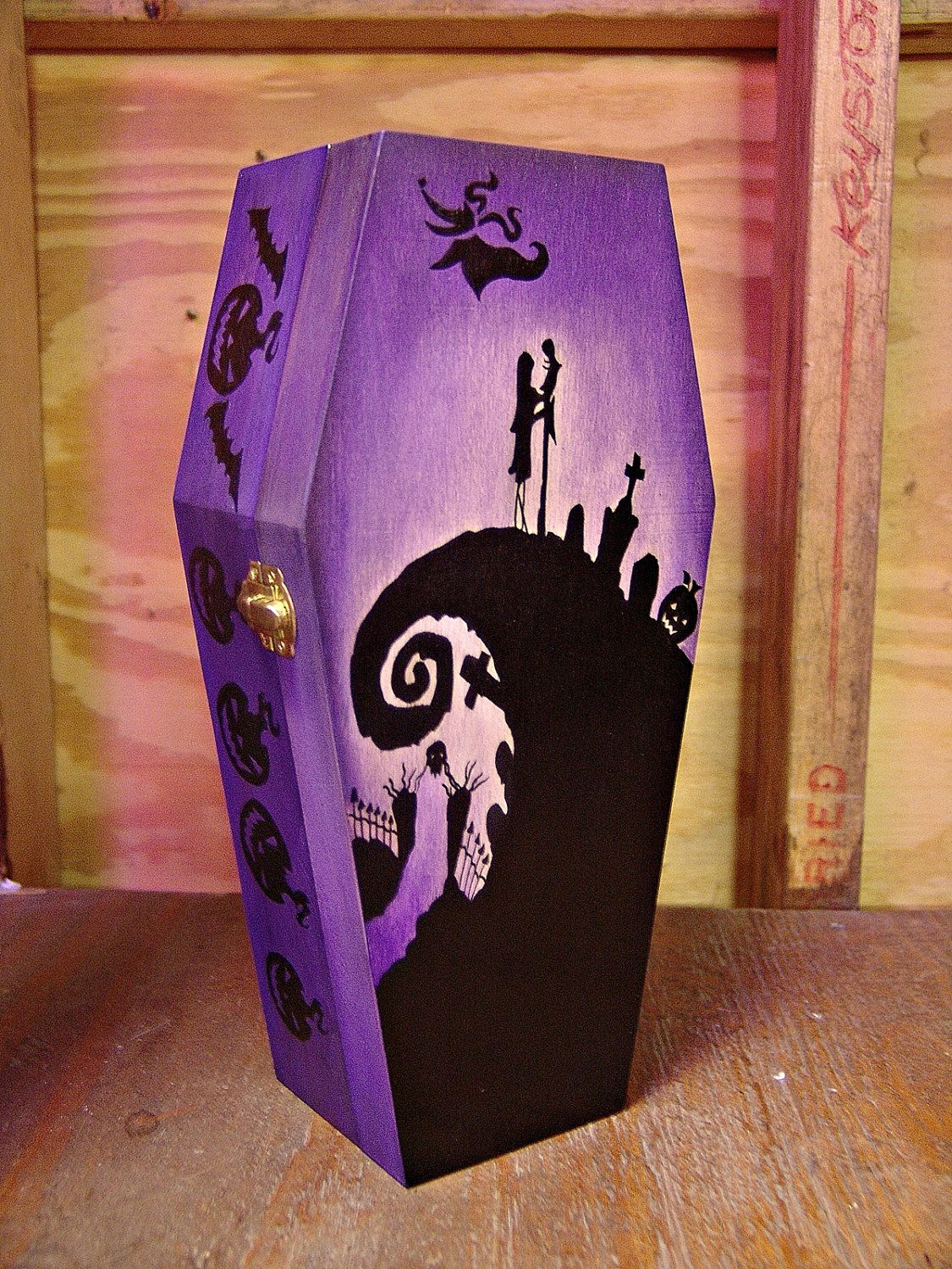 Nightmare Before Christmas Coffin Jewelry Box. $40.00, via Etsy ...