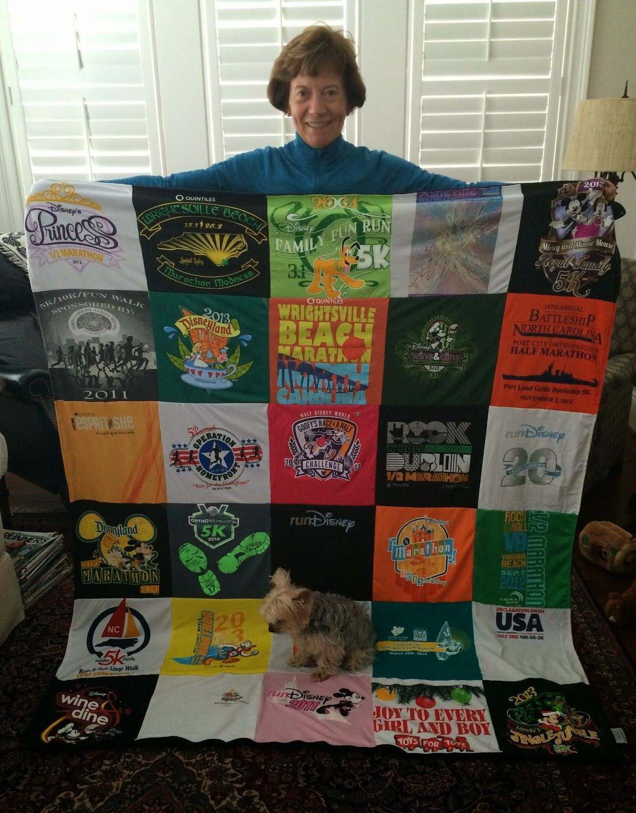 Looking for something to do with your race shirts collecting dust ... : repat quilts - Adamdwight.com