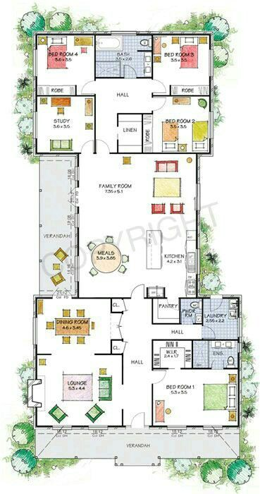 Pin By Mayumi 27 On Planos Steel Frame House Kit Homes Dream House Plans