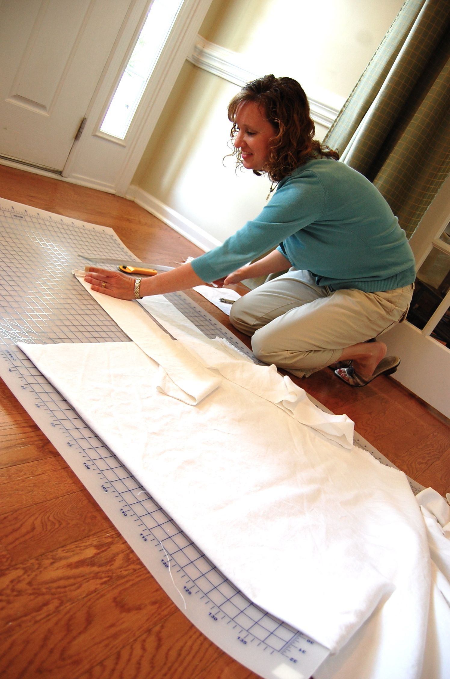 How to Make a Slipcover for a Sectional | Slipcovers ...