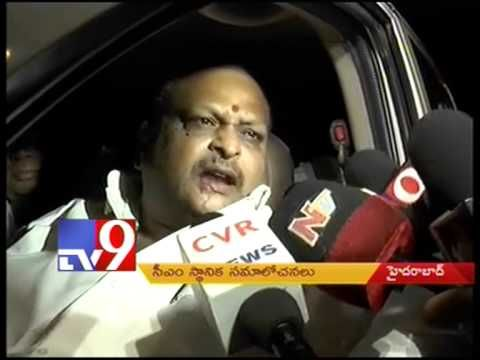 CM Kiran supervises panchayat polls