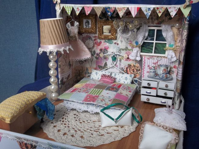 dream room in a shoebox shoe box