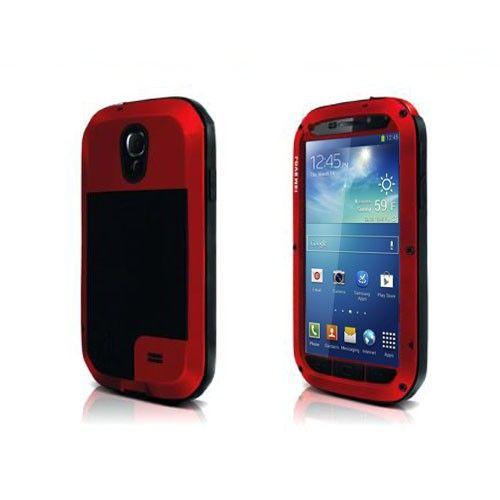 Total (Punainen) Samsung Galaxy S4 Suojakuori