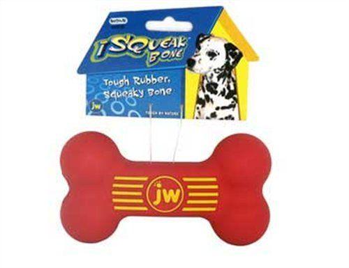 Jw Pet Company Isqueak Bone Rubber Dog Toy Medium Pet Lovers Ads Pet Companies Jw Pet Dog Toys