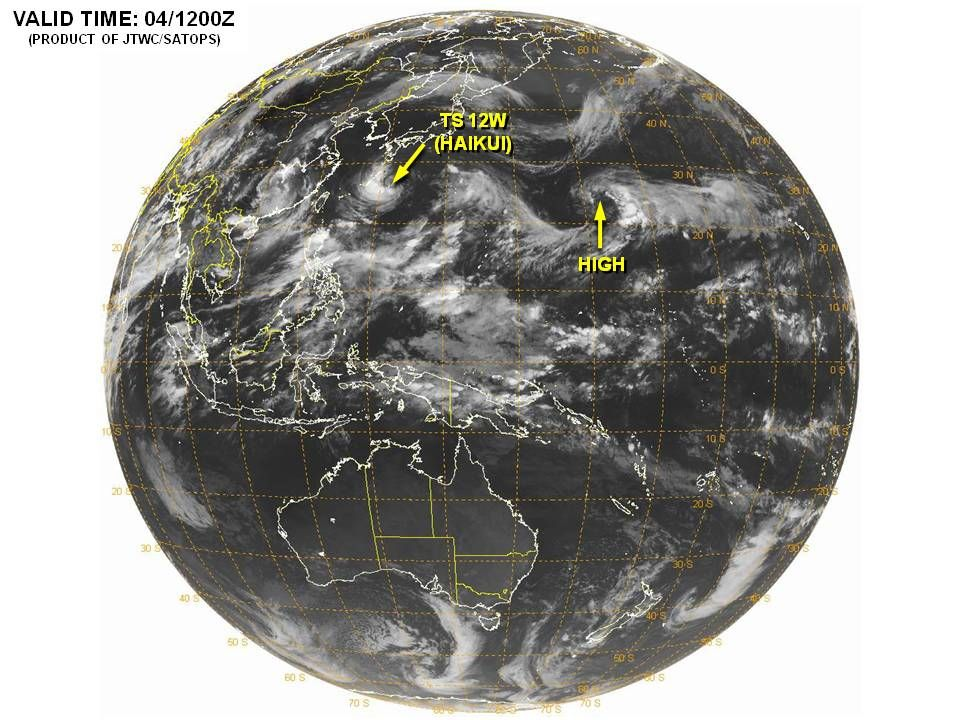 Joint Typhoon Warning Center Western Pacific And Indian Ocean