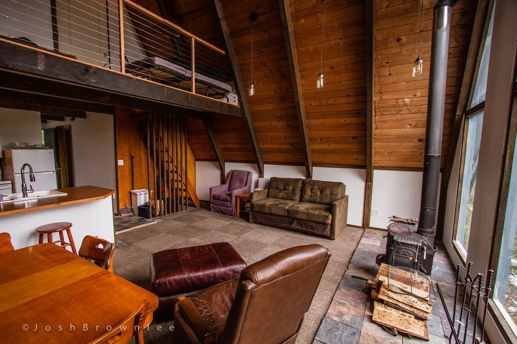 Summit at Snoqualmie A-frame Cabin - Houses for Rent in SNOQUALMIE ...