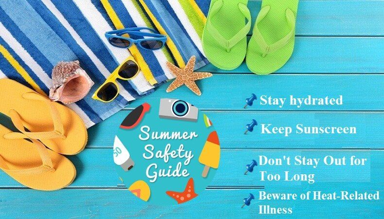 4 Frequently Occurring Summer Ailments & Tips to Prevent