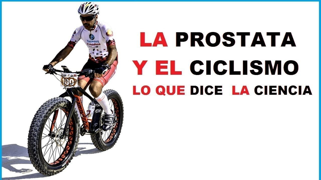 ciclistas con prostatitis