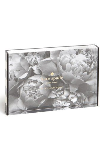 kate spade new york acrylic picture frame (4x6) available at ...