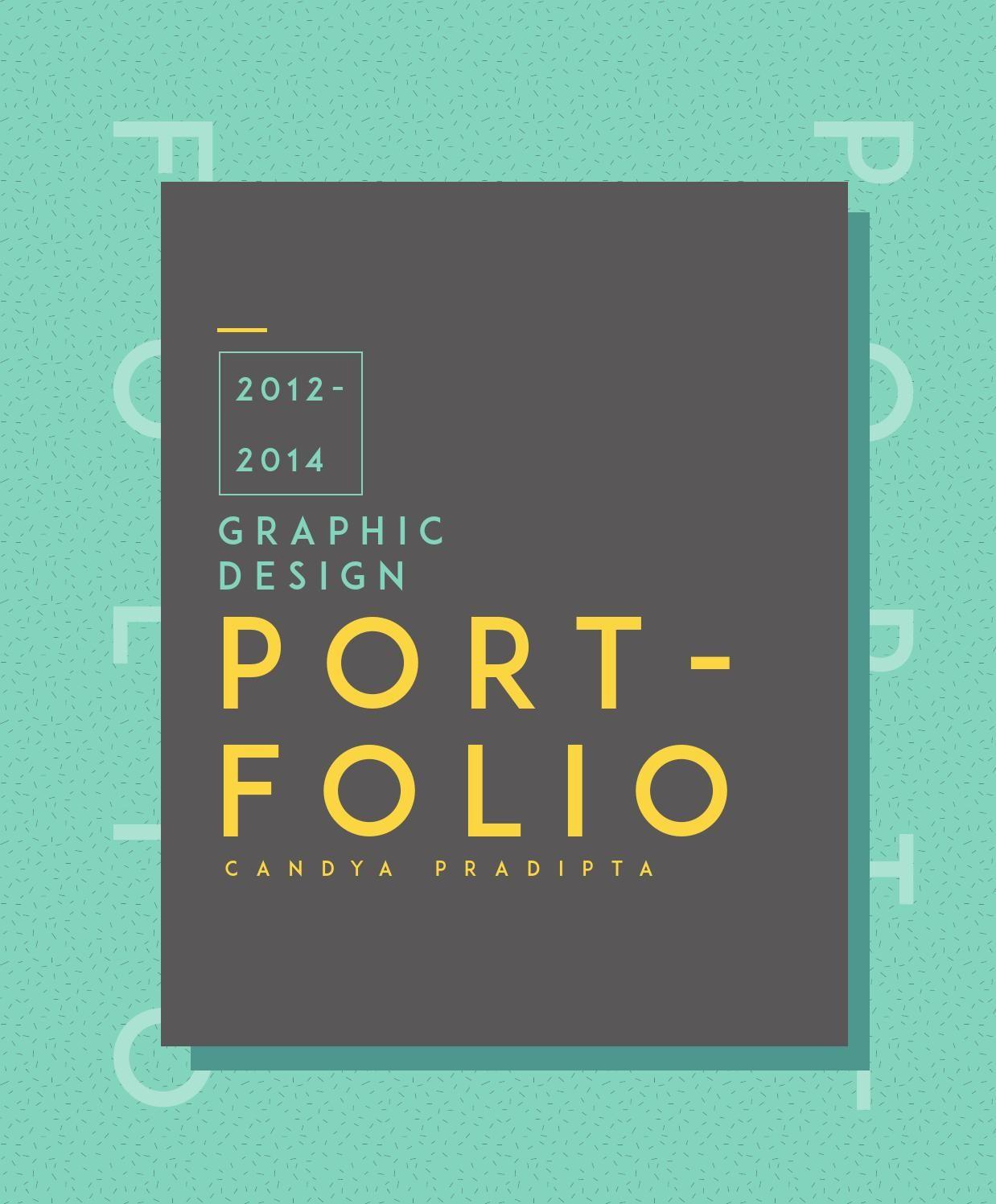 2012-2014 Portfolio / Candya Pradipta | Layouts, Portfolio design ...