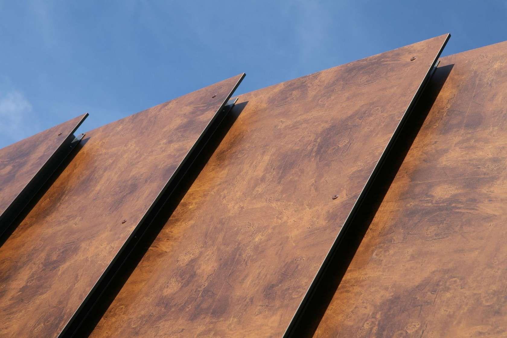 trespa meteon natural garten pinterest fassaden haus bauen und satteldach. Black Bedroom Furniture Sets. Home Design Ideas