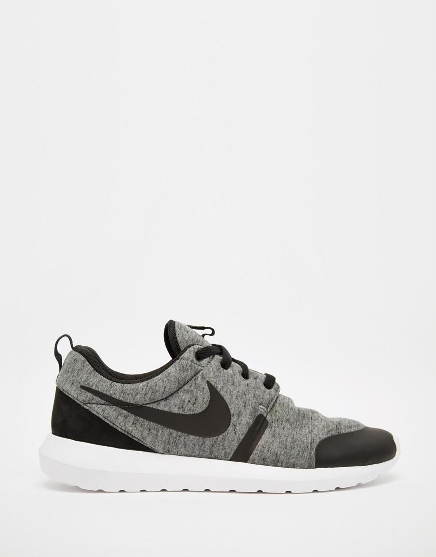 best service 2220a 3bcab Nike  Nike Roshe Run TP Trainers 749658-002 at ASOS
