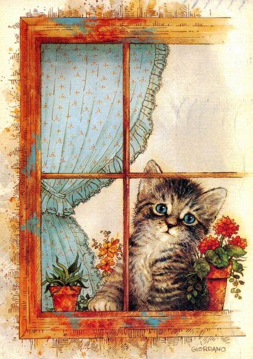 тарталетки открытка котик с письмом собираются руками