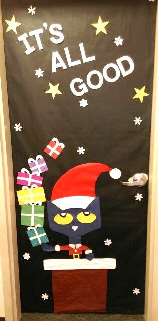 Pete The Cat Holidays · Christmas Door DecorationsDiy ...