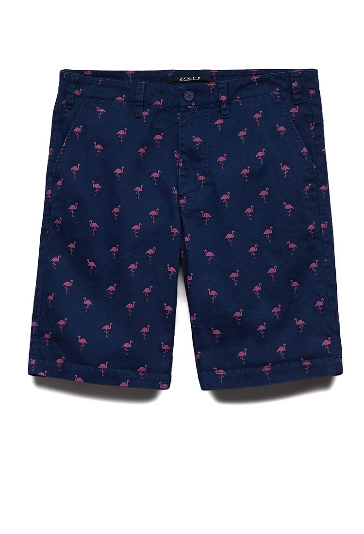 783f88059e Flamingo Print Shorts | 21 MEN Print frenzy #21Men | men clothes in ...
