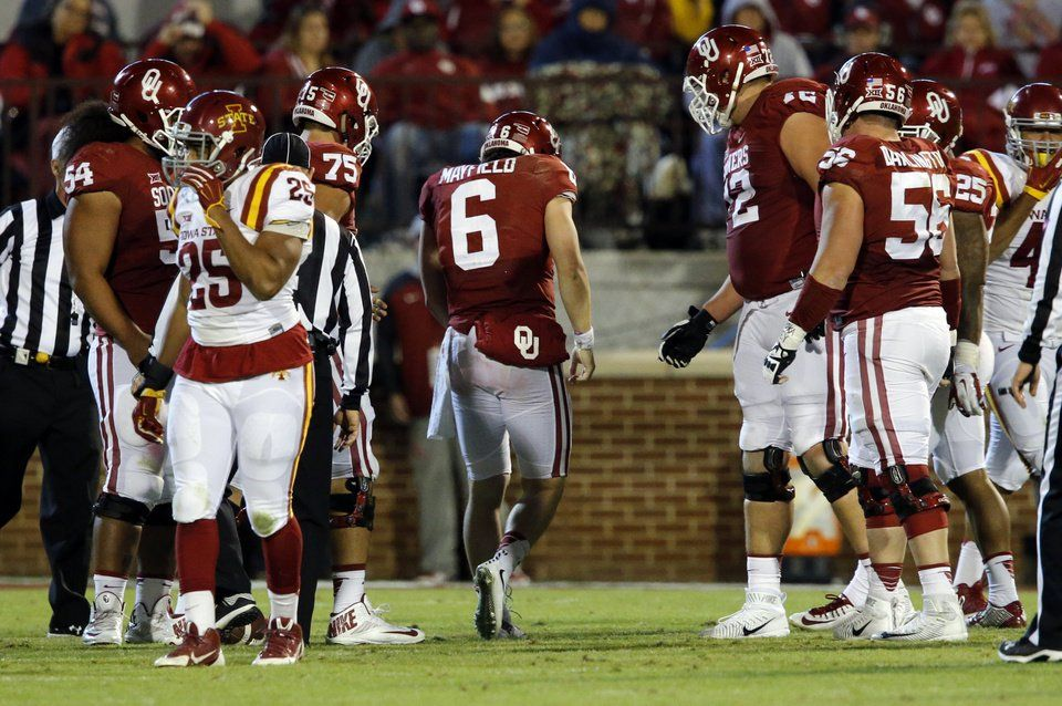 OU football Baker Mayfield leads No. 15 Sooners past Iowa