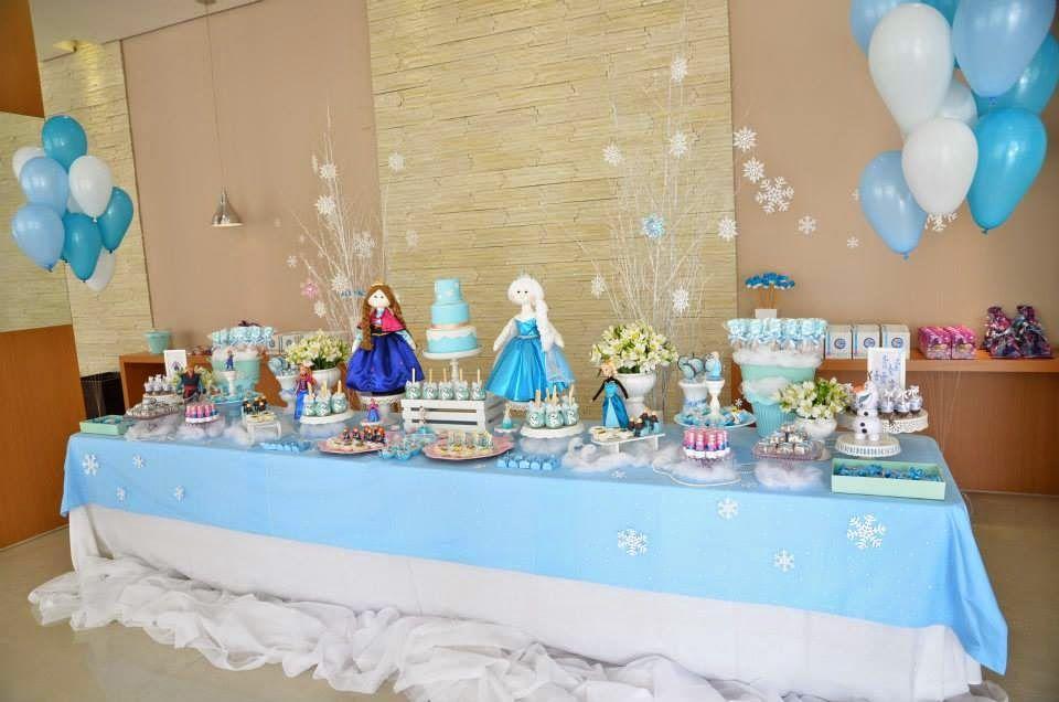 Festa Frozen: minhas inspirações para os 4 anos da Clarinha ...