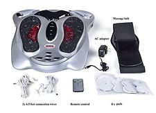 Electronic Pulse Foot Body Massager with Reflexology, TENS Infrared Therapy