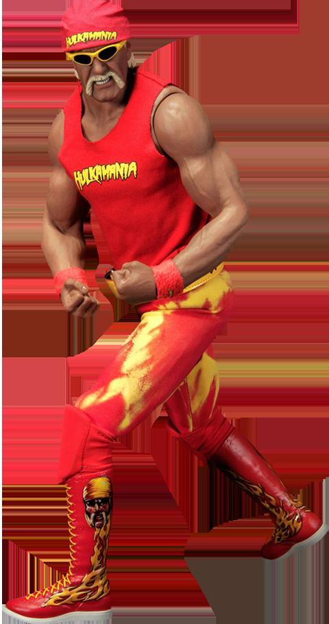 Hulk Hogan Hulkamania Sixth Scale Figure Hulk Hogan Hulk Watch Wrestling
