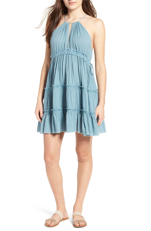 Main Image - Sun & Shadow Halter Dress