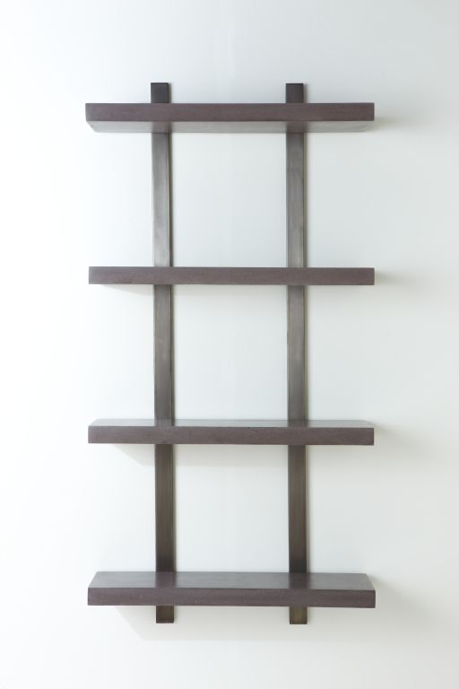 Stack Shelf 32 By Oso Industries A Customizable Shelving System With Crisp Slabs Of Highly Polished Colored Concrete That Float Off