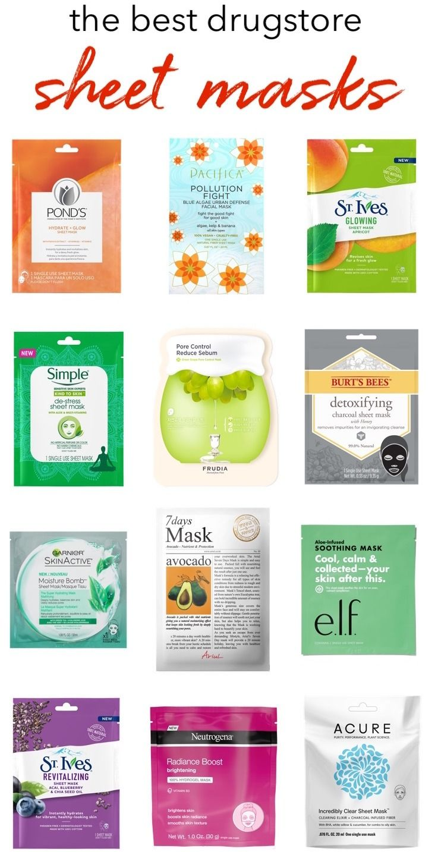 The Best Drugstore Sheet Masks Under 20 to TryNow
