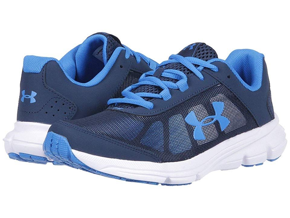 ad015031acfd Under Armour Kids UA BGS Rave 2 (Big Kid) (Academy White Blue ...