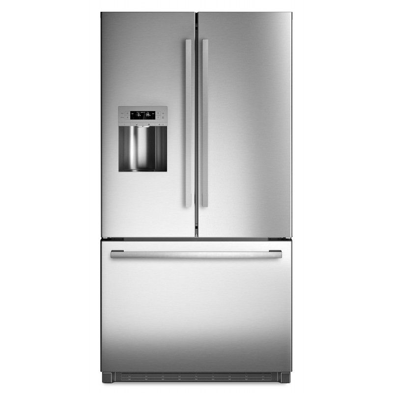 Bosch 800 Series B26ft80sns 25 5 Cu Ft French Door Refrigerator In Stainless Steel Stainless Steel French Door Refrigerator French Door Bottom Freezer Refrigerator French Door Bottom Freezer