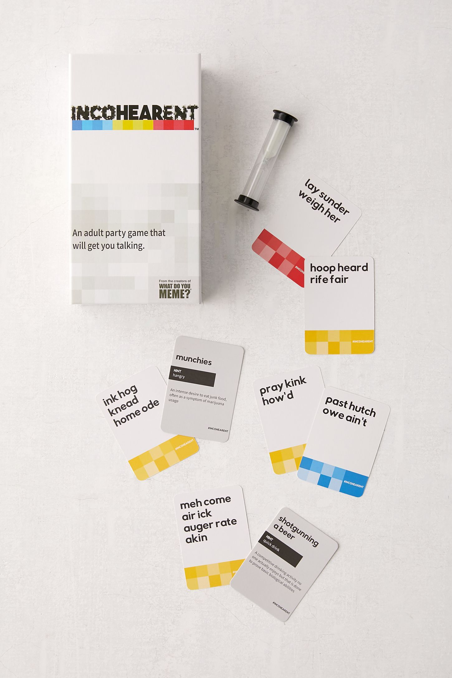 Incohearent Card Game Card Games Bachelorette Party Games Games
