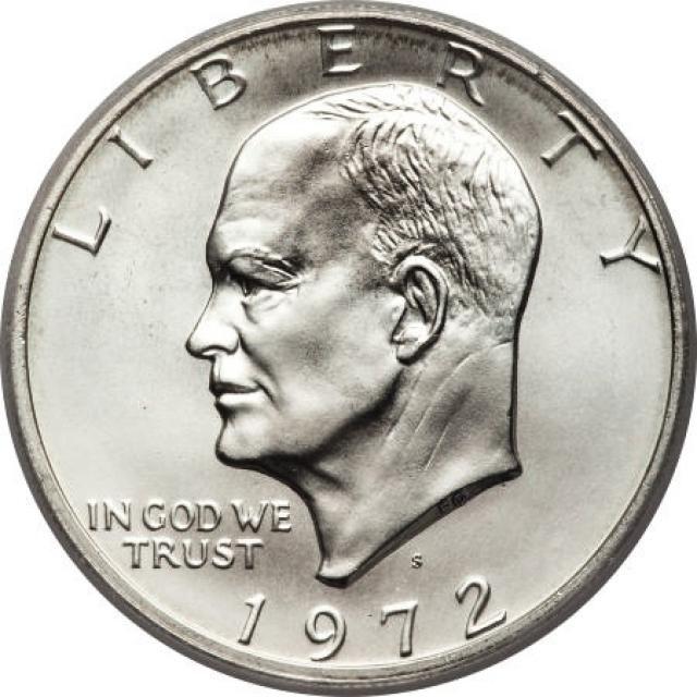 How Much Is My Eisenhower Dollar Worth Silver Dollar Value Coins Worth Money Dollar