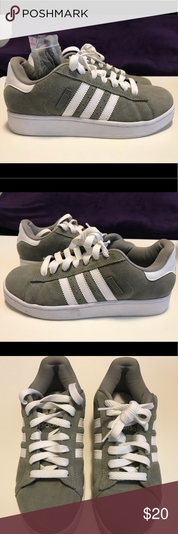 Adidas Campus Women's Sneakers - Olive