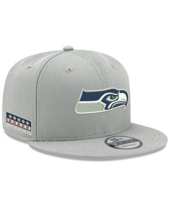 66a62e67cae New Era Seattle Seahawks Crafted in the Usa 9FIFTY Snapback Cap - Gray  Adjustable