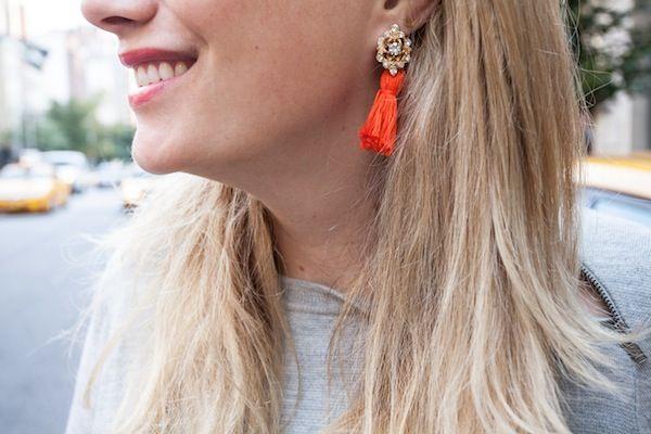 DIY Frieda & Nelly inspired tassel earrings!
