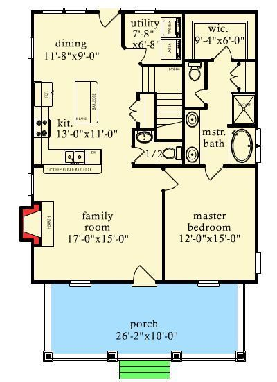 Plan 9744al Rustic Escape With Bunk Room House Plans Floor Plans How To Plan