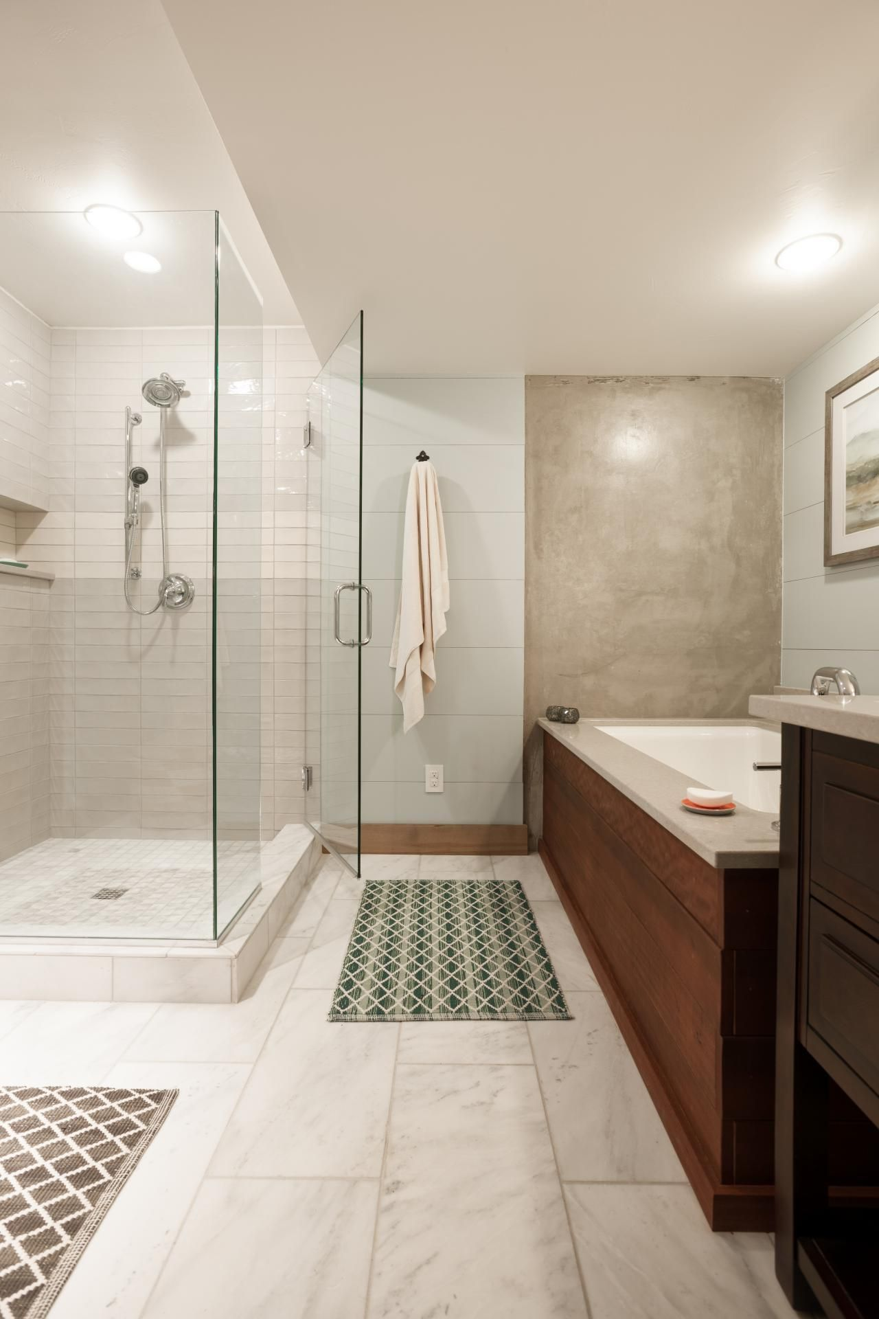 Guest Bathroom Pictures From DIY Network Blog Cabin 2015 | Marble ...