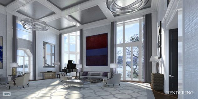 The Living Room Of New Yorku0027s Most Expensive Apartment Is Enormous! Modern  Design Furniture #modernfurniture @bocadolobo